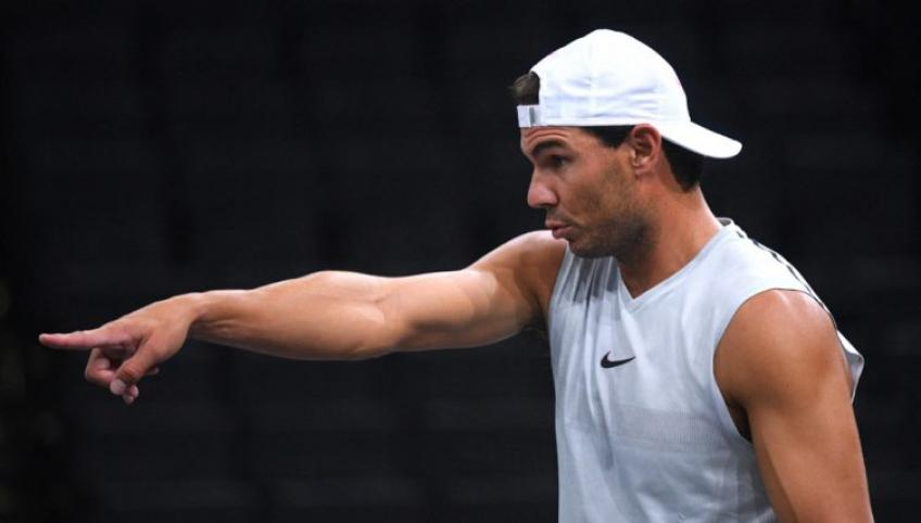 Rafael Nadal Practices with Sixth Different Partner in Melbourne ahead of First Round