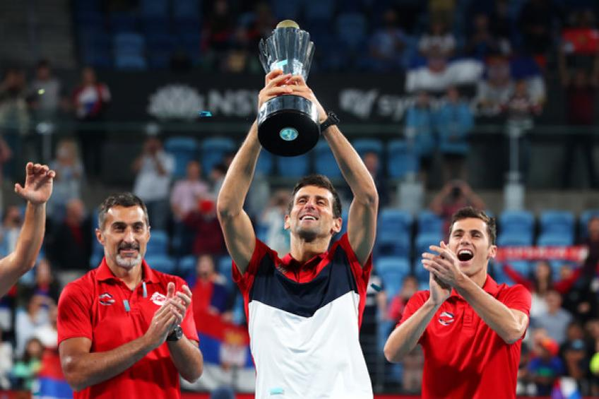 Novak Djokovic: 'ATP Cup took a lot out of me but I cherish the title a lot'