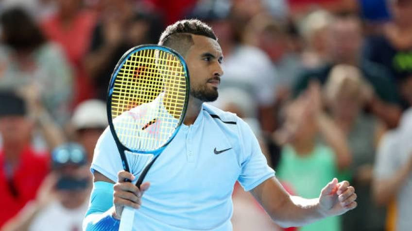 Nick Kyrgios: I'm just playing for a lot more than myself