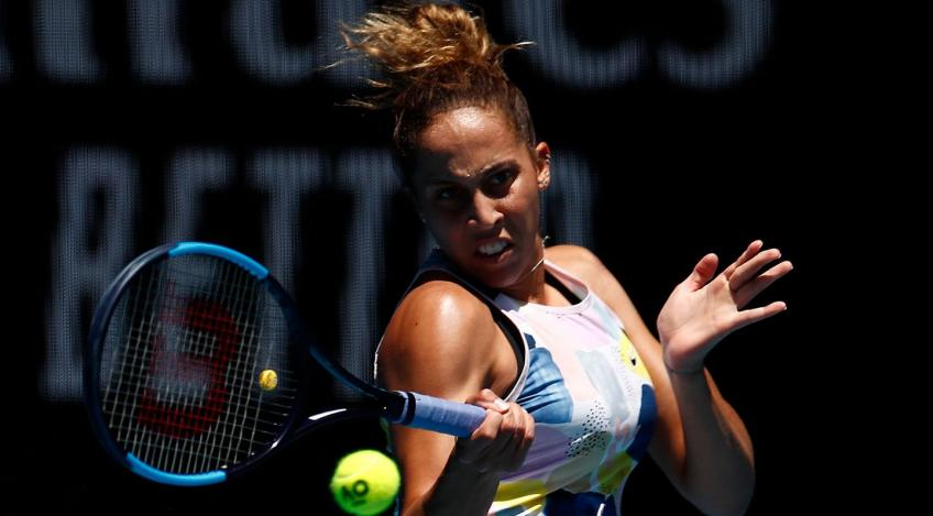 """I could play really solid tennis,"" says Madison Keys after crushing Kasatkina"