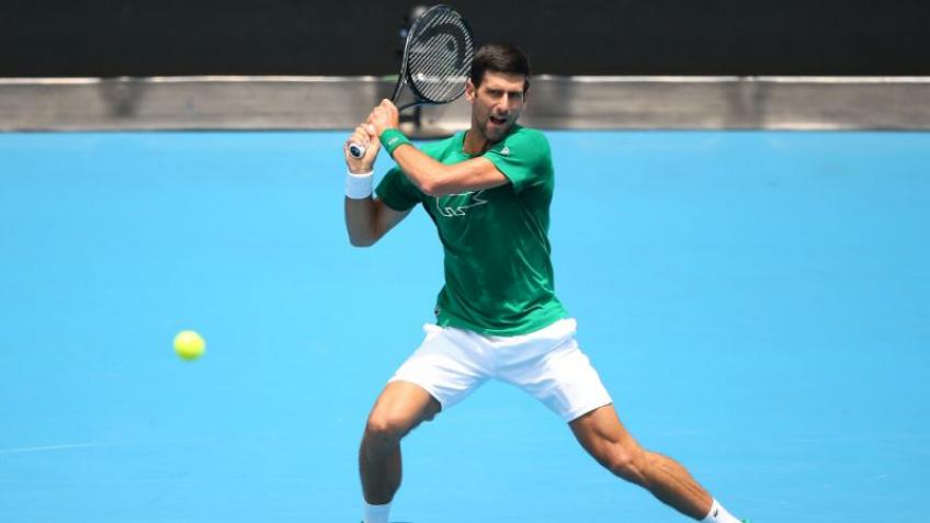 Novak Djokovic: It's only second round, I have to keep going