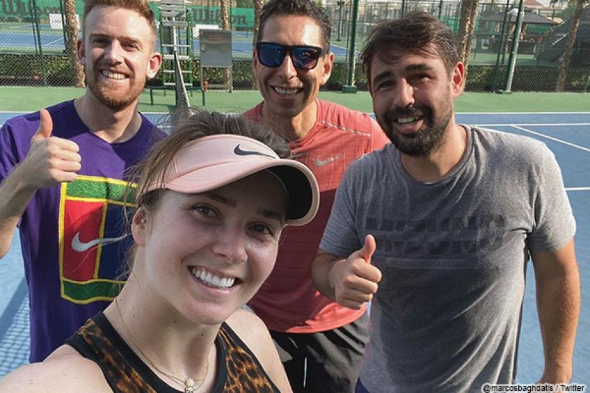 Elina Svitolina counts on Marcos Baghdatis to help her at Australian Open