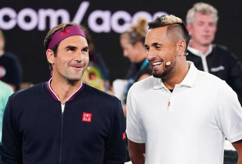 Roger Federer: 'I hope Nick Kyrgios gets a lot of support at the Australian Open'