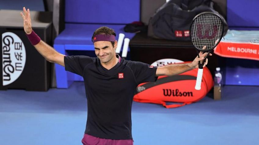 Roger Federer: I'm happy with all four final set endings at Grand Slams