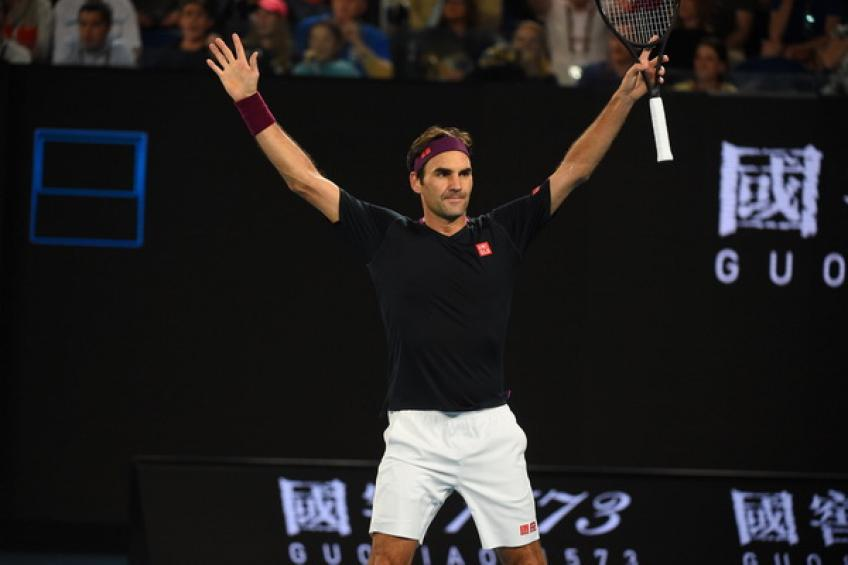 Roger Federer explains what he had to figure out to beat John Millman
