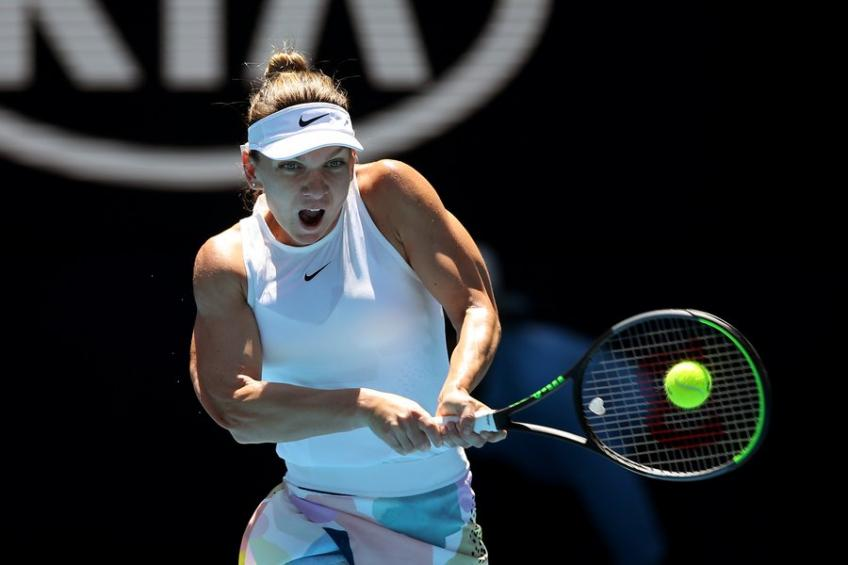 Australian Open: Simona Halep through to 2nd week; Pliskova, Bencic routed