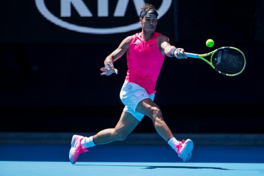 ATP Australian Open: Rafael Nadal makes strong start against Carreno Busta