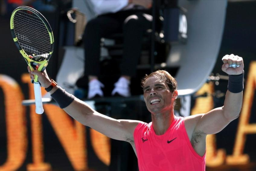 ATP Australian Open: Rafael Nadal follows Roger Federer and Novak Djokovic