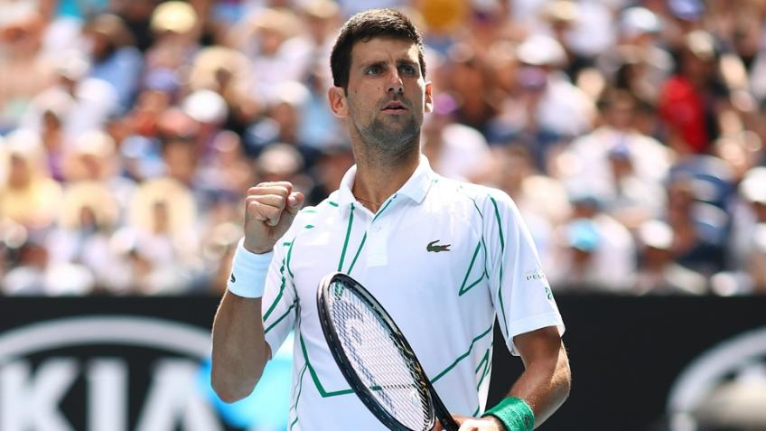 Novak Djokovic happy with his game after Diego Schwartzman win