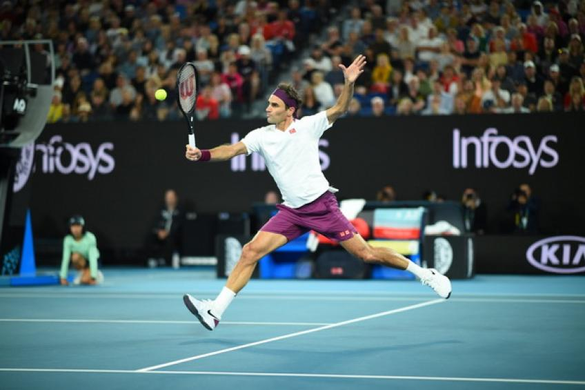 Roger Federer earns age record at the Australian Open
