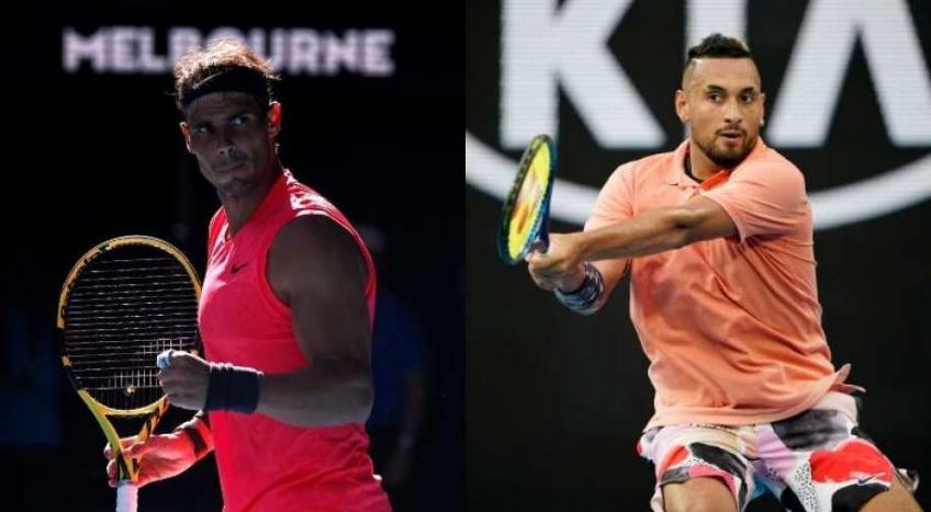 It's going to be another physical battle: Kyrgios before Rafael Nadal blockbuster