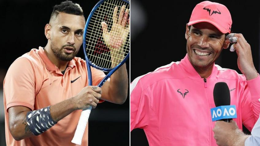 'Everyone knows Rafa's models', Kyrgios ahead of Rafael Nadal clash