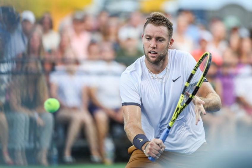 Jack Sock takes New York wild card to join Isner, Kyrgios and Raonic