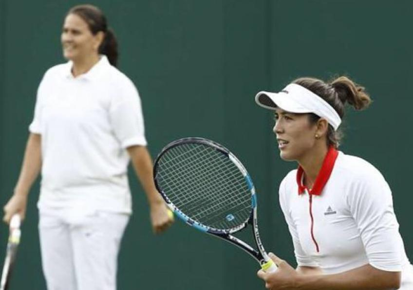 Coach Conchita Martinez Comapred partnership with Muguruza to Brad & Jen