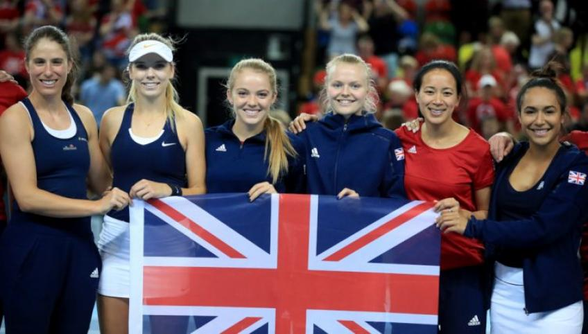 Great Britain Name Fed Cup Squad