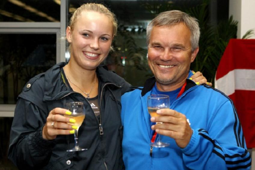 Piotr Wozniacki Hopes Relationship with Media Would Cool After Caroline's Retirement