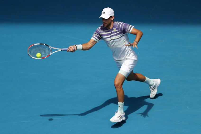 ATP Australian Open Semi Final: Thiem v Zverev 1