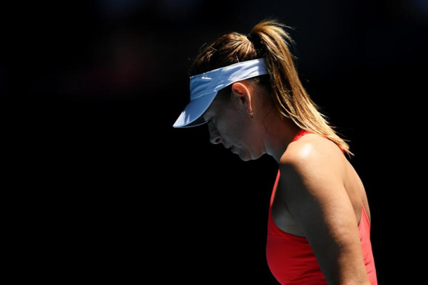 Maria Sharapova suffers another setback, withdrawing from..