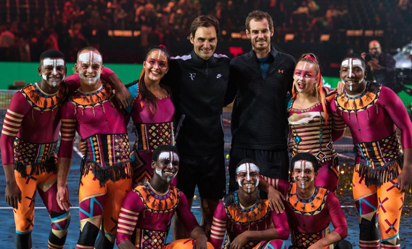 Zip Zap Social Circus to Join Roger Federer and Rafael Nadal for Match in Africa