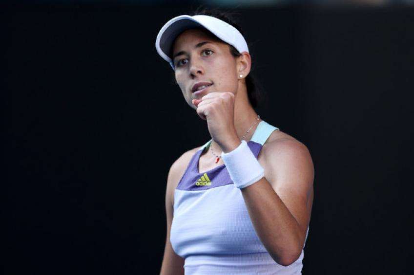 WTA Australian Open: Aggressive Garbine Muguruza takes first set vs. Sofia Kenin