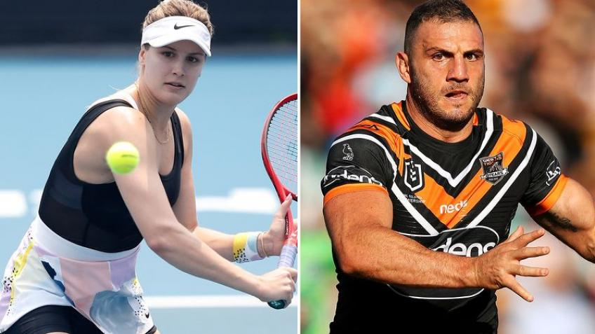 Rugby league star Robbie Farah Asks Eugenie Bouchard Out on Twitter