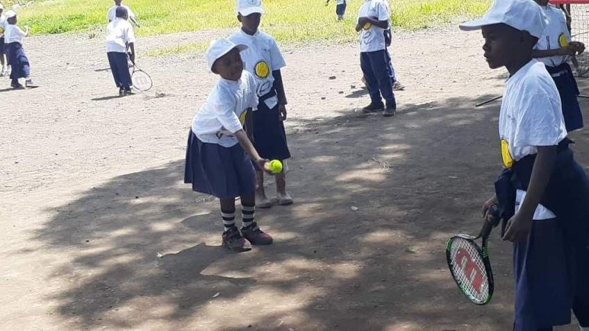 TENNIS AS THERAPY THANKS TO TENNIS WORLD FOUNDATION