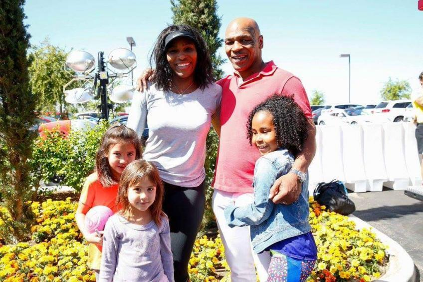 Mike Tyson's daughter Milan trains with Serena Williams and Coco Gauff's coach
