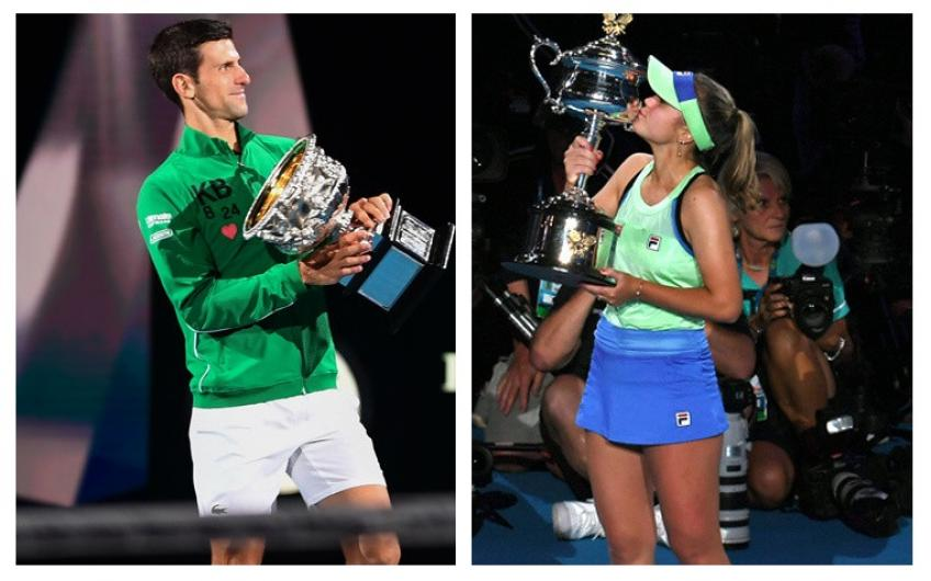 Australian Open Tops & Flops: Djokovic rules, Serena Williams' broken dream