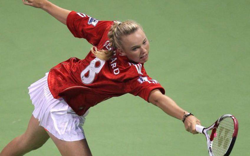 Liverpool Legend Steven Garrard Sends Retirement Message to Caroline Wozniacki