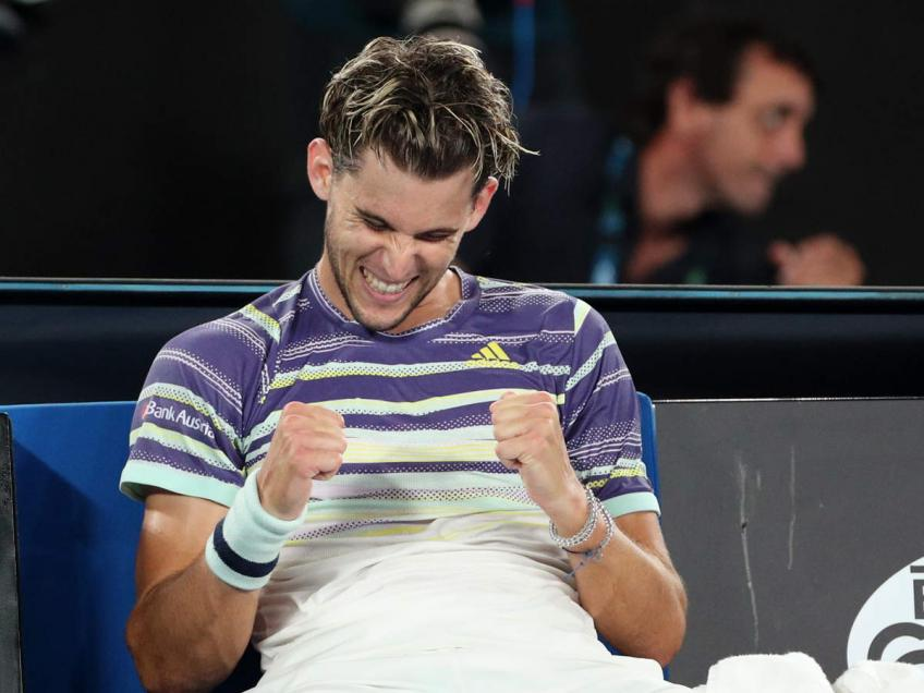 Dominic Thiem sets eyes on Roger Federer's ranking
