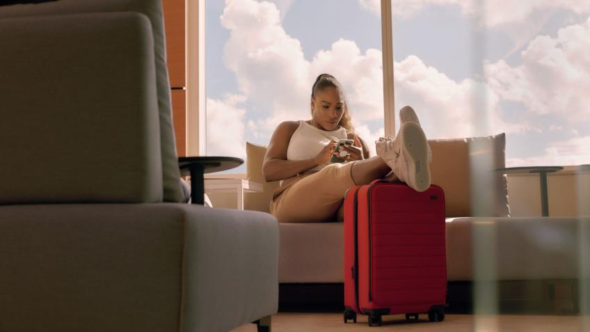 Serena Williams Collaborates with Away Luggage Collection