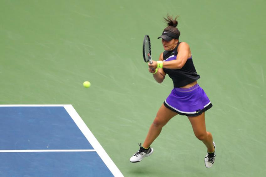 Bianca Andreescu: 'There's chance to play this week but I don't want to rush things'