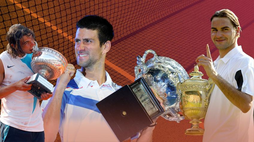 Host argues why Djokovic's achievements wouldn't match up Roger Federer, Rafael Nadal