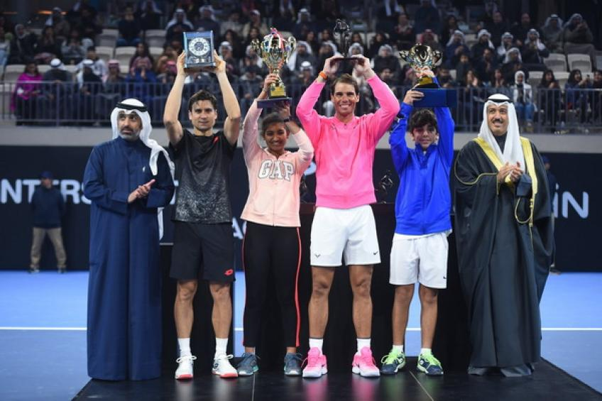 Rafael Nadal Academy in Kuwait hosts tournament