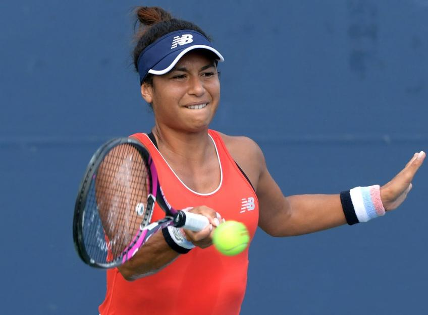 Heather Watson upbeat about the Fed Cup