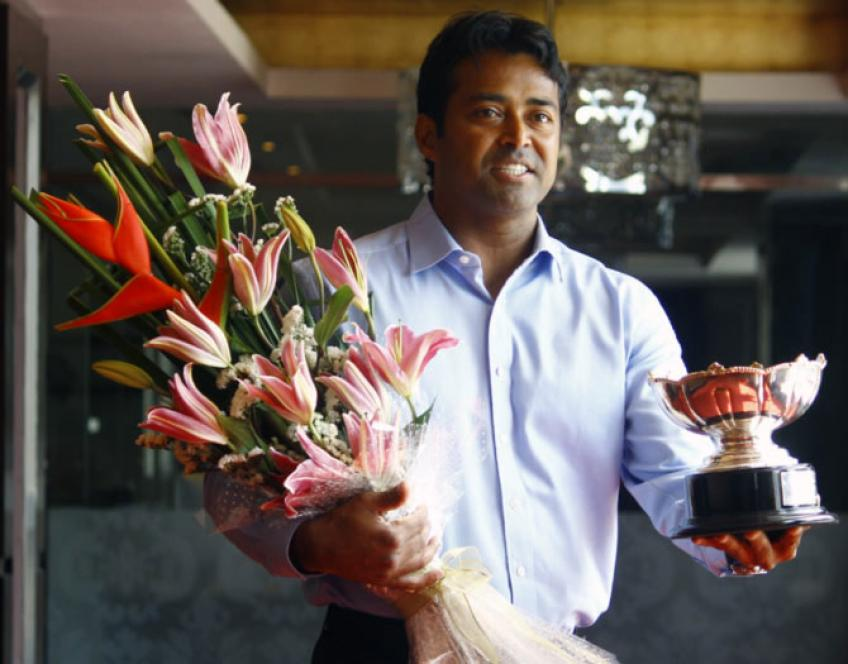 Leander Paes: 'To be a champion, you've got to know life'