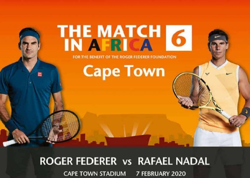 Roger Federer and Rafael Nadal in Cape Town are the best spot for tennis