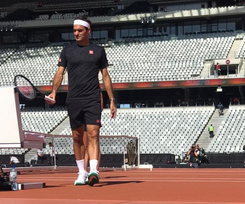 Roger Federer and Rafael Nadal ready for the Cape Town clash!