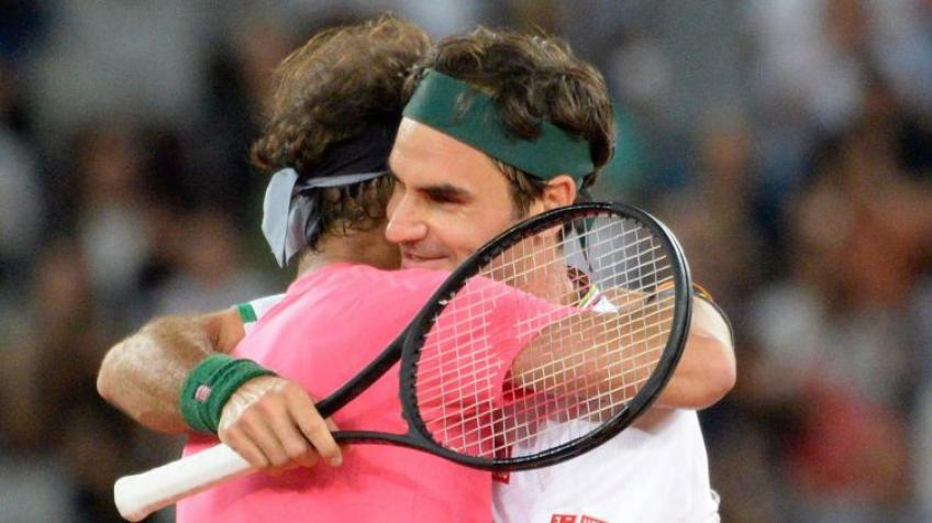 Roger Federer and Nadal's embrace was the best example for children