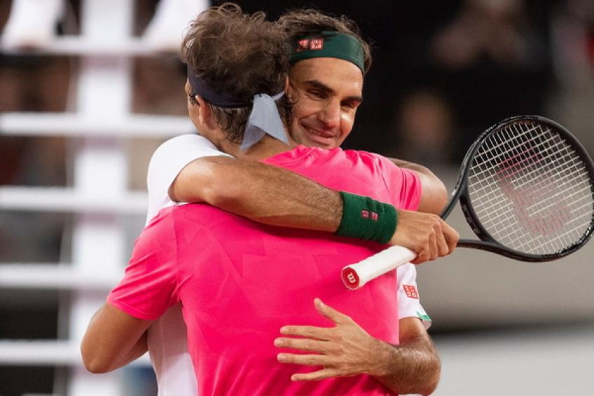 Roger Federer: 'It would be o.k if Rafael Nadal matches my Grand Slam tally, he is..'