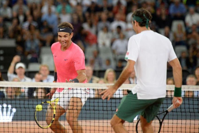 Roger Federer:Fans in Cape Town wanted to see me and Rafael Nadal play proper tennis