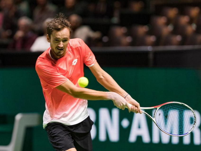 Daniil Medvedev speaks highly of Rotterdam, tournament's player field