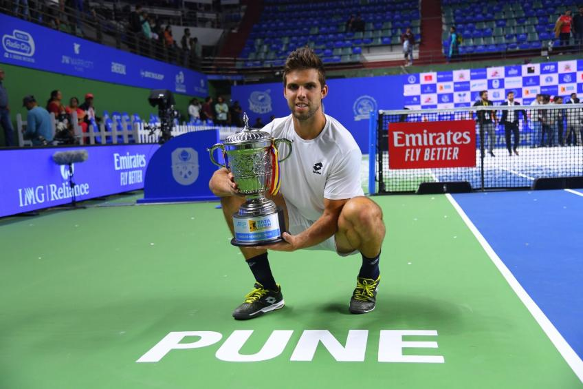 Great Times for Jiri Vesely winning the Tata Open