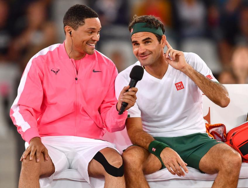 Trevor Noah:Thank you Roger Federer,Rafael Nadal & all who supported this great cause