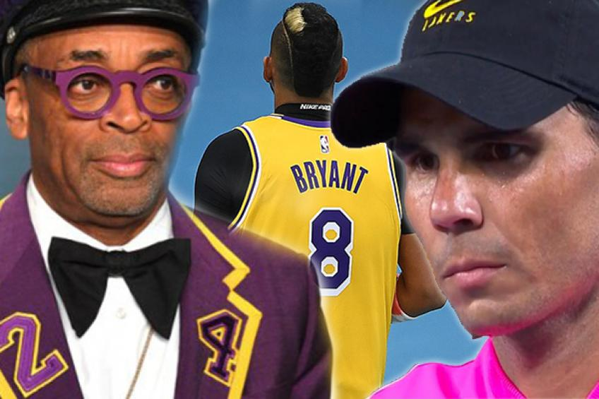 Spike Lee honrs Kobe Bryant in custom suit at Oscars