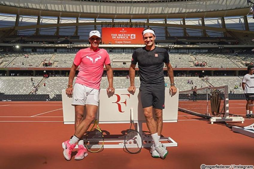 Roger Federer is amazed by the week he spent with Rafael Nadal & co. in South Africa