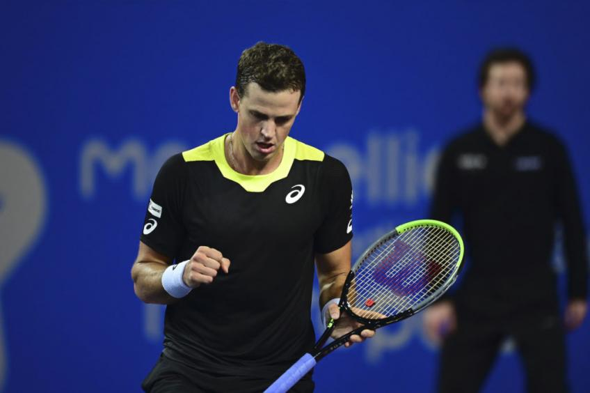Top seed Medvedev tumbles to Pospisil defeat in Rotterdam