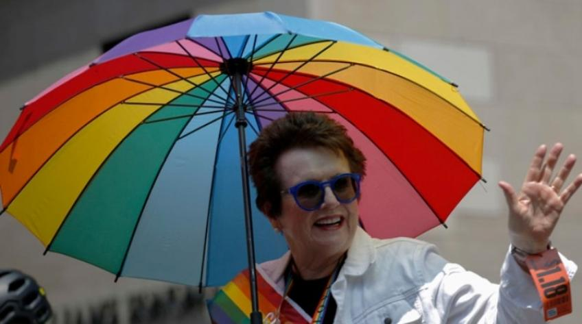 Billie Jean King: Tennis is the leader in the battle for equality for women's sport