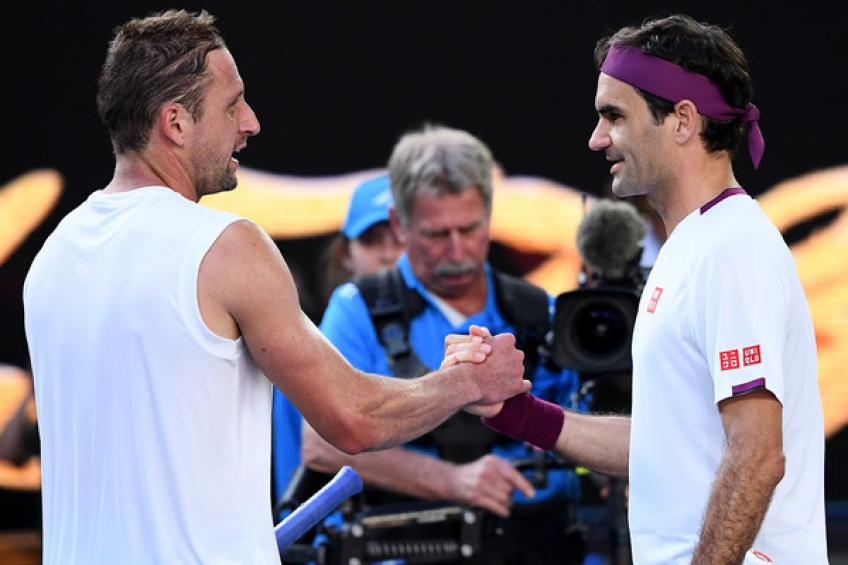 Tennys Sandgren describes what he felt after heartbreaking Roger Federer loss