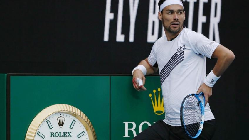 Injury forces Fabio Fognini to pull out of Marseille